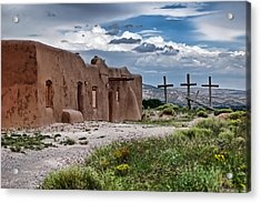 Abandoned Church In Abiquiu New Mexico Acrylic Print