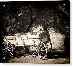 Abandoned Acrylic Print by Dale Simmons