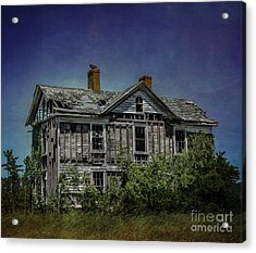 Abandoned Dream Acrylic Print by Terry Rowe