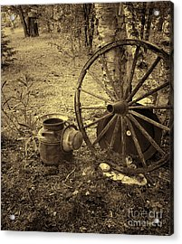 Abandoned - Antique Vintage Acrylic Print