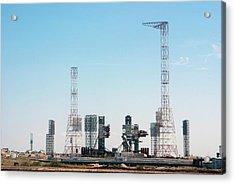 Abandoned Energia-buran Launch Pad Acrylic Print