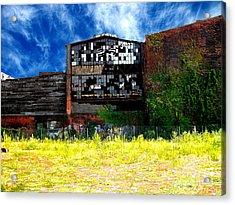 Abandoned Factory 1 Acrylic Print