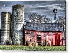 Abandoned Farm New Jersey Acrylic Print