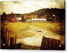 Abandoned Farm Acrylic Print