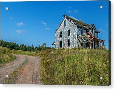 Abandoned Home Acrylic Print by Ken Morris