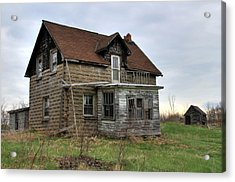Acrylic Print featuring the photograph Abandoned Homestead by Jim Vance