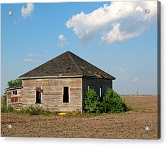 Abandoned House Acrylic Print by Connie Fox