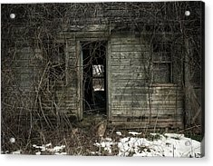 Abandoned House - Enter House On The Hill Acrylic Print by Gary Heller