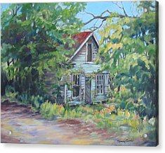 Abandoned House In Galivants Ferry Acrylic Print