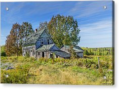 Abandoned House In Wentworth Valley Acrylic Print