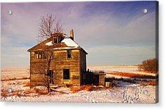 Abandoned House Acrylic Print by Jeff Swan