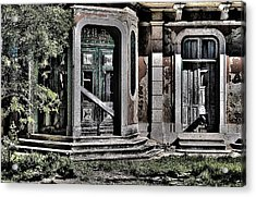 Abandoned House Acrylic Print by Marco Oliveira