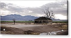 Abandoned House Acrylic Print by Swift Family