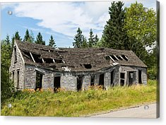 Acrylic Print featuring the photograph Abandoned by John M Bailey
