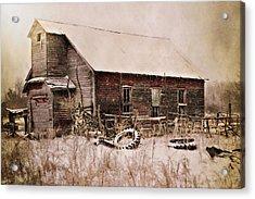 Abandoned Acrylic Print by Julie Hamilton