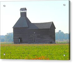 Abandoned Acrylic Print by Kay Gilley