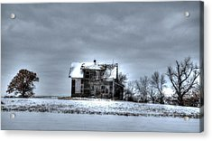Acrylic Print featuring the photograph Abandoned  by Kevin Bone