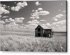Abandoned Acrylic Print by Kjirsten Collier
