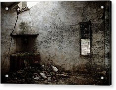 Abandoned Little House 3 Acrylic Print by RicardMN Photography