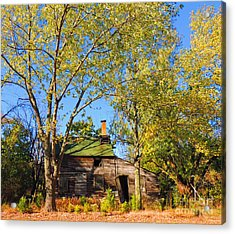Abandoned Acrylic Print by Marian DeSalvo-Rodgers