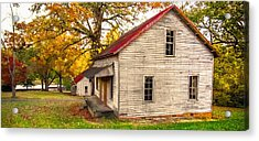 Abandoned Acrylic Print by Marion Johnson