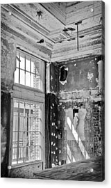 Acrylic Print featuring the photograph Abandoned Memories by Davina Washington