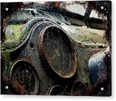 Acrylic Print featuring the photograph Abandoned by Micki Findlay