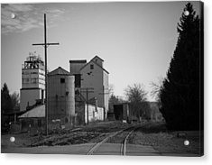 Abandoned Mill Acrylic Print by Richard LaVere