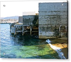 Acrylic Print featuring the photograph Abandoned On Cannery Row by Paul Foutz