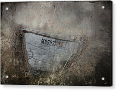 Abandoned On Sugar Island Michigan Acrylic Print