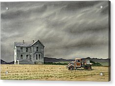 Abandoned   Acrylic Print by Paul Krapf
