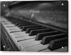 Abandoned Piano Acrylic Print