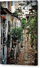 Abandoned Place In Sao Paulo Acrylic Print
