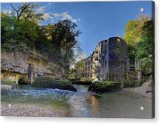 Abandoned Plant Along Valserine River Acrylic Print by Patrick Jacquet