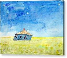Abandoned Prairie Acrylic Print