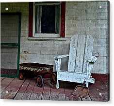 Abandoned Acrylic Print by Frozen in Time Fine Art Photography