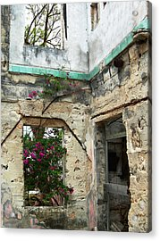 Abandoned Acrylic Print by Sarah-jane Laubscher