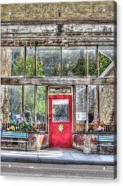 Abandoned Shop Acrylic Print
