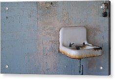 Abandoned Sink Acrylic Print