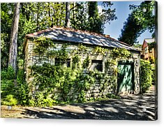 Abandoned Acrylic Print by Steve Purnell