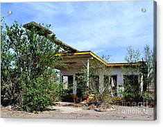 Acrylic Print featuring the photograph Abandoned Store by Utopia Concepts