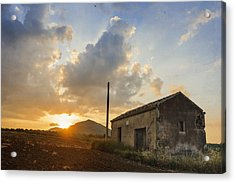 Abandoned Warehouse Acrylic Print