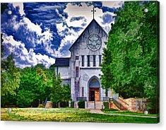 Abbey Church Acrylic Print