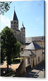 Abbey Cluny  Acrylic Print by Christiane Schulze Art And Photography