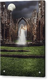 Abbey Ghost Acrylic Print by Amanda Elwell