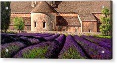 Abbey Lavender Acrylic Print by Michael Swanson