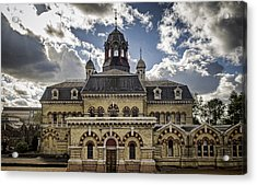 Abbey Mills Pumping Station Acrylic Print by Heather Applegate