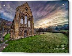 Abbey Ruins Acrylic Print by Adrian Evans