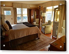 Abbeymoore Manor - Victoria Bc Iris Room Acrylic Print