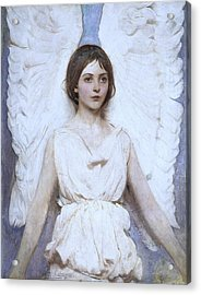 Abbott Handerson Thayer Angel 1886 Acrylic Print by Movie Poster Prints